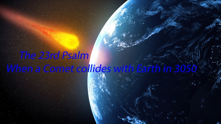 Comet collides with Earth