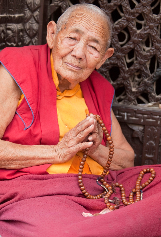 The spiritual leader of the Monks in Tibet