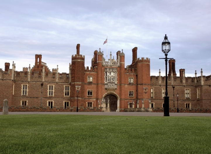 Hampton Court where Anne of Cleves spent many years